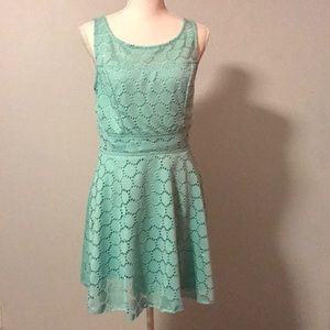 Teal Trixxi Dress - Flirty & Fun!
